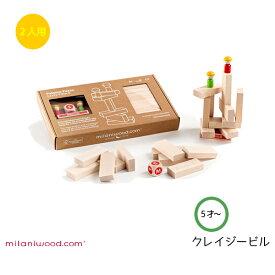 クレイジービル MIMCZPX-001 知育玩具 知育ゲーム ボードゲーム ミラニウッド社 誕生祝 ギフト プレゼントに最適