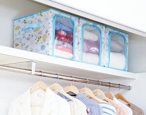 【月間優良ショップ受賞】収納ケース 衣類収納 不織布製 3個組 北欧柄 小 収納袋 通気性良好 ほこり除け アストロ 606-53