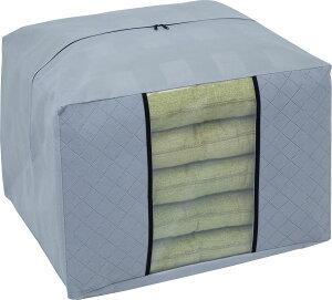【月間優良ショップ受賞】アストロ 座布団 収納袋 グレー 不織布 活性炭消臭 171-54