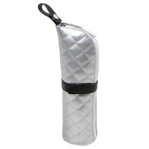 アストロ ヘアアイロンケース シルバー 耐熱 ヘアアイロン 収納 ポーチ トレイ 持ち運び 吊り下げ可能 821-54