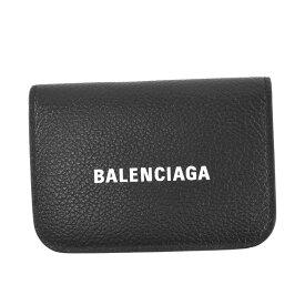 バレンシアガ BALENCIAGA 財布 3つ折小銭付き レディース ブラック 593813 1090