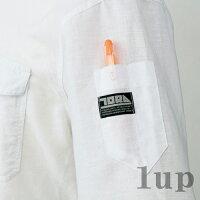作業服寅壱作業着1020-125春夏必需麻混長袖シャツM-LL(春夏用)