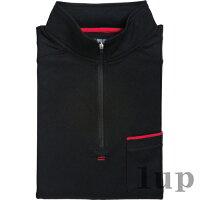 寅壱作業服5960-623赤耳ジップアップハイネックシャツ「M〜LL」(寅壱作業服年間)