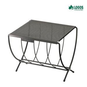 ロゴス LOGOS 薪ラックテーブル キャンプ アウトドア 焚火 ラック 耐熱テーブル 81064154