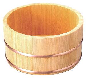 湯桶 バスグッズ さわら湯桶(銅タガ/丸型) てまひま工房