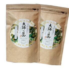 阿波晩茶 大師の茶 ティーバッグ お徳用 15包×2袋セット 徳島特産 晩茶 発酵茶 お茶 送料無料 メール便発送