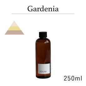リードディフューザーオイル 250ml Gardenia - ガーデニア / 201LAB ニーマルイチラボ レフィル つめかえ 詰め替え ルームフレグランス ディフューザー オイル アートラボ ARTLAB
