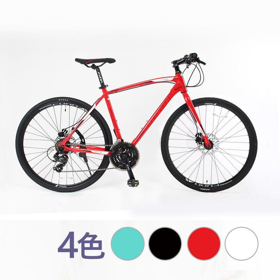 自転車 本格 クロスバイク 2019新型モデル700C×28C高級アルミ仕様 軽量ディスクブレーキ 本体 じてんしゃ シティサイクル 通勤 通学 新生活 プレゼント ギフト【GT700】【本】