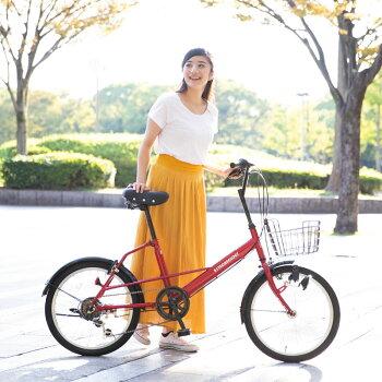 2019年新型自転車小径車ミニベロ20インチ本体通勤通学シティーサイクル新生活【SK206-2019】【本】