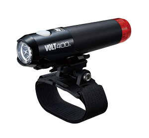 【CATEYE】HL-EL462RC-H VOLT400 DUPLEX 自転車用ヘッドライト 自転車 CATEYE ヘッドライト テールライト キャットアイ 充電式 usb 防水 パーツ アクセサリー ロードバイク クロスバイク ママチャリ 軽量