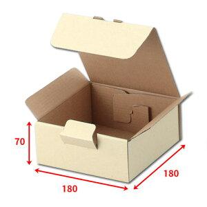 送料無料・宅送ボックス180×180×70mm「100枚」化粧箱 ダンボール 包装 ラッピング 梱包 ※個人様宛配送不可※