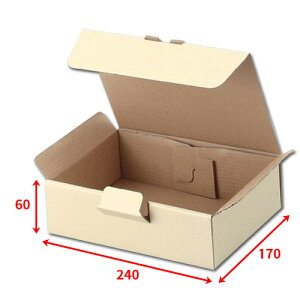 送料無料・宅送ボックス240×170×60mm「100枚」化粧箱 ダンボール 包装 ラッピング 梱包 ※個人様宛配送不可※