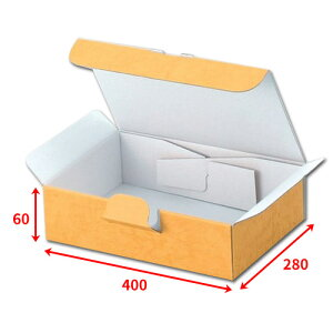 送料無料・組立式ギフト箱400×280×60mm「100枚」化粧箱 ダンボール 包装 ラッピング 梱包 ※個人様宛配送不可※