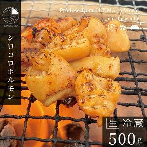 豚 ホルモン 500g シロコロホルモン 焼肉 国産豚 生 冷蔵便 新鮮 豚 ホルモン焼き肉 バーベキュー コンロ 七厘 人気 おすすめ