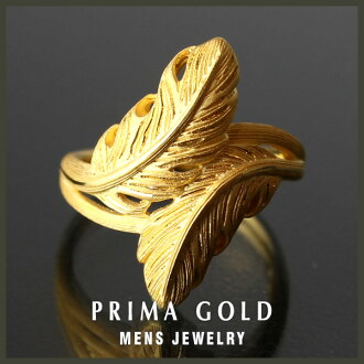 24K Mens pure gold ring gold pure gold K24YG PRIMAGOLD Rakuten daily ranking first place acquisition