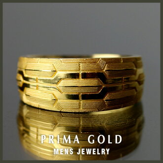 It is recommended to pure gold men ring K24 gold PRIMAGOLD gift, a present
