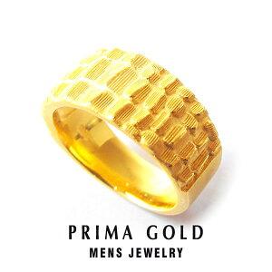 純金 24K クロコダイル リング 指輪 メンズ 男性 イエローゴールド プレゼント 誕生日 記念日 贈物 24金 ジュエリー アクセサリー ブランド プリマゴールド PRIMAGOLD K24 送料無料