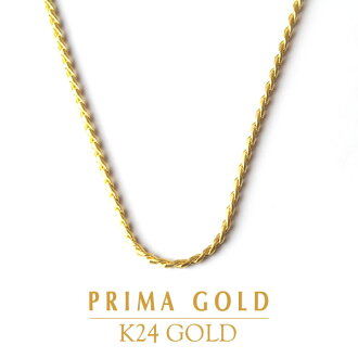 ●PRIMAGOLD purimagorudo●设计链子●K24 Chain Necklace●24k 24钱纯金黄金珠宝