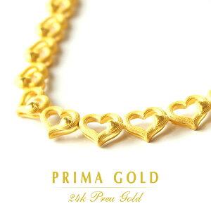 24K 純金 PRIMAGOLD プリマゴールド 送料無料 【ラブ・ビバ】 【ネックレス】 【LOVE VIVA】 24金 ゴールド