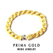 純金メンズブレスレット【イエローゴールド】K2424金純金ゴールド【男性用Mens】PRIMAGOLDプリマゴールド【正規代理店】【送料無料】ギフト・贈り物にもおすすめ