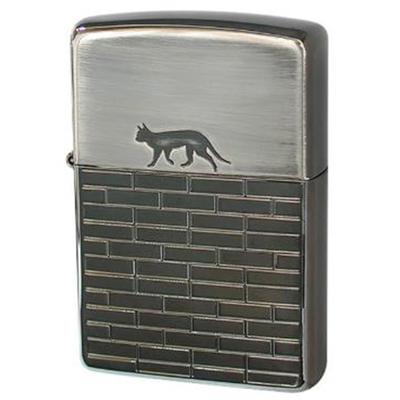 ZIPPO(ジッポ) ライター 【SALE】 メタル 彫刻 ハートシリーズ 2BN-CATW(キャットウォーク) ジッポライター(刻印可)猫・セクシーキャットZIPPOlighter ライタ− ジッポ−プレゼントZIPPO