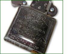【zippo】 名入れ ジッポ 刻印 ライター インサイドケースへの刻印(インナーへの刻印) プレゼントZIPPO