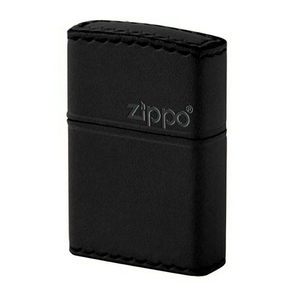 【zippo】 b-5【送料無料】 ブラック革巻き 【zippo】 ライター ジッポライター 革・革巻(本牛革手縫い)(ジッポ インサイド刻印可)ジッポプレゼントZIPPO