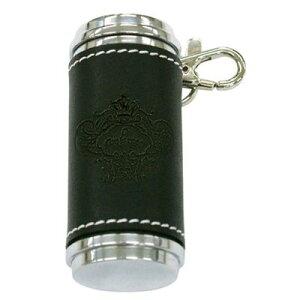革巻き高級携帯灰皿:Orobianco(オロビアンコ)ブランド ORA-22bkブラック[日本製]【ギフト】【プレゼント】【プレゼント ギフト】