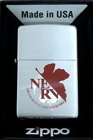 新世紀 エヴァンゲリオン 新劇場版 新NERV レアZippo Type-SILVER 限定シリアルナンバー入り(携帯灰皿&ライタースタンド付き) エヴァンゲリオン グッズ