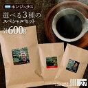 スペシャルティコーヒー コーヒー豆 お試し 送料無料 4人の生産者から選べる ホンジュラス 200g×3種類セット 600g お得 珈琲豆 浅煎 中煎 中挽き 豆のまま 酸味 コーヒー豆専門店 自家焙