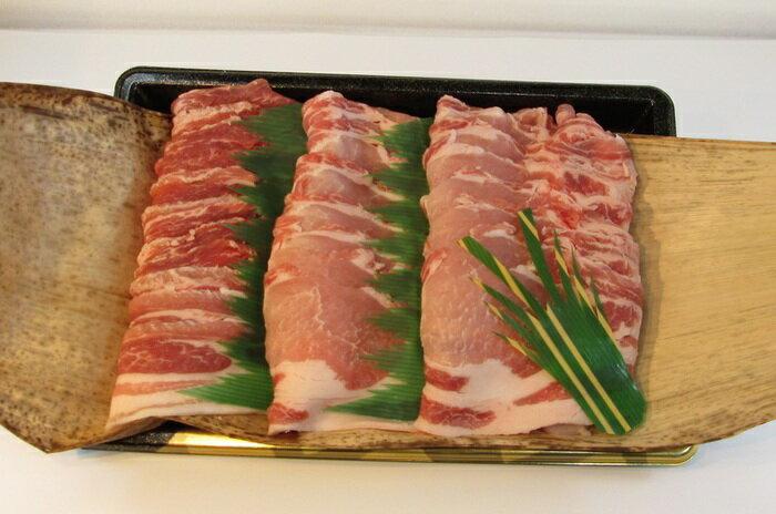 茨城が誇る銘柄豚ローズポークしゃぶしゃぶ用ロース肉 約400gバラ肉  400g 計800g入り