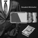 Decadent Minimalist デカデント ミニマリストマネークリップ カード ホルダー 12枚サイズ 送料無料 薄い 軽い 財布 …