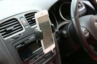 iPadair対応ワンタッチ式スマホ車載ホルダーMountekGRIP+マウンテックグリッププラス