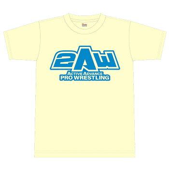 2AWロゴTシャツ(イエロー)