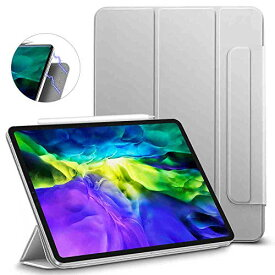 ESR iPad Pro 11 ケース 2020 磁気吸着 [第二世代 Pencilのペアリング & 充電に対応] オートスリープ/ウェイク スリム 軽量 シル
