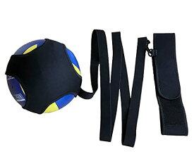 バレーボール 練習 サービストレーナー 安心の240cmストラップ サーブ自己練習 ウォーミングアップ バレー用具 トレーニング用品 ク