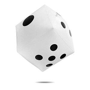 CCINEE ジャンボサイコロ 30cm 巨大 大きい ビッグ ビーチボール ジャンボ サイコロ カードゲーム