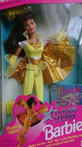 Barbie Teresa バービー人形 FLING HERO Brbie 1995(ライト付き)
