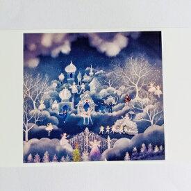 バレリーナ ポストカード Maya くるみ割り人形 夢の国 プチギフト プレゼント メッセージカード バレエ雑貨 バレリーナ雑貨 クリスマスカード
