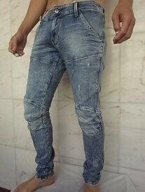 """G-STAR RAW[ジースター]【5620 3D SUPER SLIM SKINNY JEANS】LIGHT VINTAGE AGED DESTROY""""LOR SUPER STRETCH DENIM""""エルウッド""""スキニー""""Jeans★"""