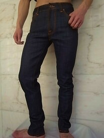 "Nudie Jeans(ヌーディー ジーンズ)【THIN FINN】""LOW YOKE THIN SKINNY LEGS""""ORGANIC DRY TWILL""ストレッチ混スリムスキニーJeans★"