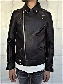 """Lewis Leathers(ルイス レザース)COW HIDE LEATHER【No.441TF CYCLONE JACKET】""""Tight Fit""""Double Rider's Jacket★★COW BLACK★"""