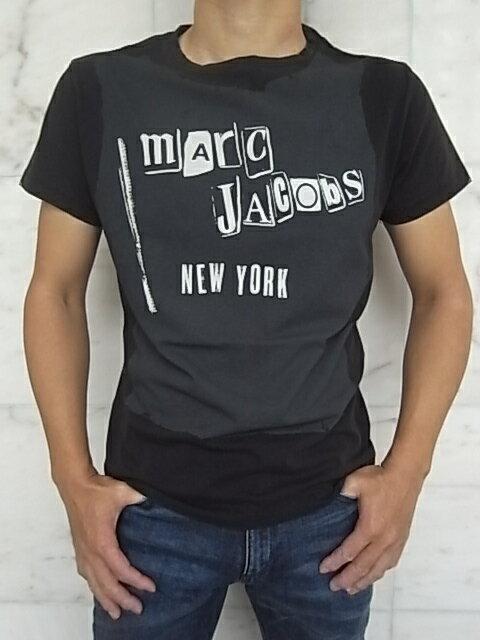 "MARC JACOBS(マーク ジェイコブス)【mArC JACobS NEW YORK】""SLIM FIT""ショートスリーブTee★BLACK★"