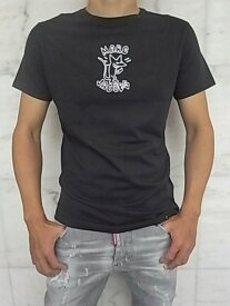 """MARC JACOBS(マーク ジェイコブス)【KEITH HEALING STYLE EMBROIDERY】""""SLIM FIT""""ショートスリーブTee★BLACK★"""