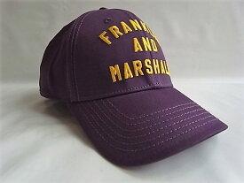 FRANKLIN&MARSHALLフランクリン&マーシャル【FRANKLIN AND MARSHALL】ベースボールCAP★OLD PURPLE☆
