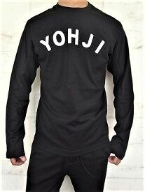 "adidas STYLE Y-3(ワイ−スリー)【Y-3 U YOHJI LETTERS LS TEE】""YOHJI""プリントロングスリーブ Tee★BLACK★"