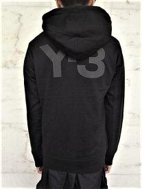 """adidas Y-3(ワイ−スリー)【Y-3 U CLASSIC HOODIE】""""Y-3""""フーデットスウェット★BLACK★"""