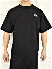 """adidas STYLE Y-3(ワイ−スリー)【Y-3 M HEAVY COMPACT JERSEY SS TEE】""""Y-3""""ヘビーコンパクトジャージショートスリーブTee★BLACK★"""
