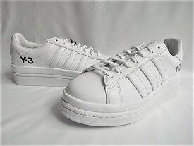 adidas Y-3(ワイ−スリー)【Y-3 HICHO】ローカットスニーカー☆COREWHITE/COREWHITE/BLACK☆