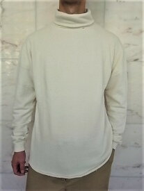 PORTER CLASSIC(ポータークラシック)【FRENCH THERMAL】TURTLE NECK☆WHITE☆